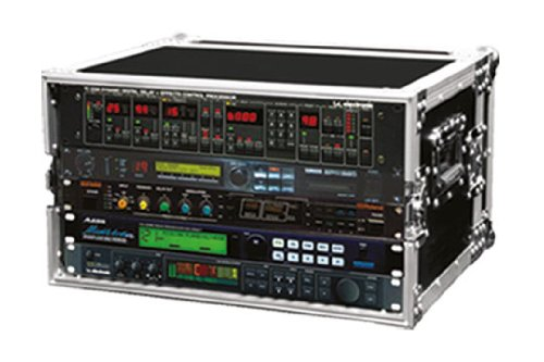 ProX Cases X-6UE - 6 Space Effects Rack - Road Gig Flight Ready Case
