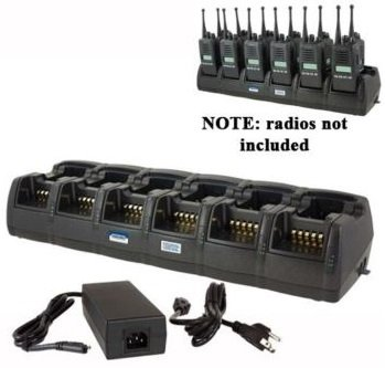 Power Products TWC12M + TWP-IC3-D 12 Unit Gang Charger for Icom BP232 F4011 F3011 F3161S F4161S F3021S F4021S F14 F24 and more by Power Products (Image #1)