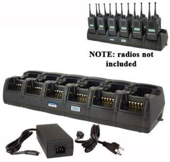 Power Products TWC12M + TWP-IC3-D 12 Unit Gang Charger for Icom BP232 F4011 F3011 F3161S F4161S F3021S F4021S F14 F24 and more