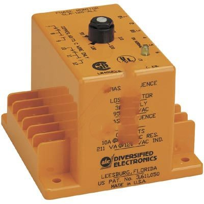 ATC SLA-440-ALE Monitor/Relay, 430-480 Adjustable, Lock Shaft Adjusted, Surface Mounted, 8 Screw Terminals by Atc