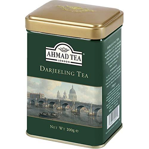 - Ahmad Darjeeling Tea Tin Box Net Wt 200 g (7 Oz)