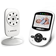 Video Baby Monitor with Camera and Infrared Night Vision, Two-Way Talkback, and Temperature Monitor – Long Range Baby Monitor with Digital Camera –Monitor Your Baby All Round the Clock(Camera+Monitor)