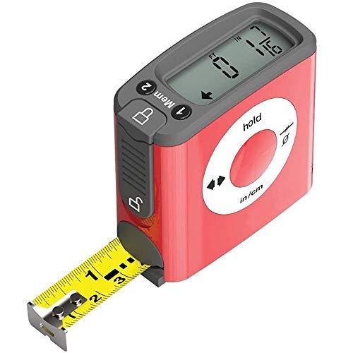 ,Battery Included Self Leveling Retractable Horizon Vertical Standard and Metric Ruler Spirit Level Laser Levels,DAMPOT Multipurpose Measuring Tool Laser Level 8ft//2.5M Tape Measure