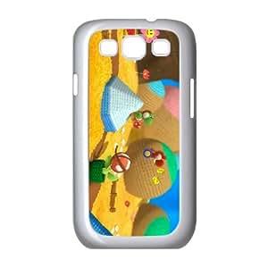 Samsung Galaxy S3 9300 Cell Phone Case White_Yoshi's Woolly World_015 Ljinv