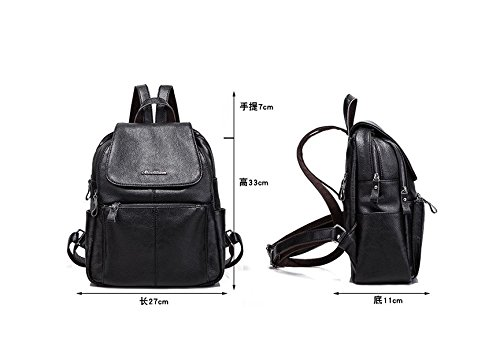 Korean handbags fashion shoulder bag New leather backpack qTFfxv