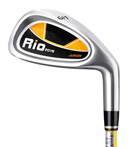 Kids Golf Clubs 7# Irons R Grade with Graphite Shaft for Beginner Juniors (Yellow, 5-8 Ages)