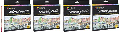 Colore Colored Pre-Sharpened Pencils Set , 200 Colored Pencils by Colored Pencils