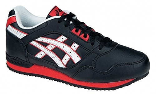 Asics Stormer PS Kinderschuh CY812/9023 Farbe: Black/White/Red