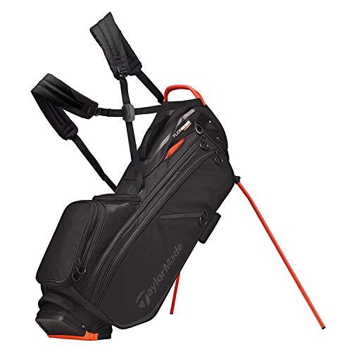 TaylorMade 2019 Flextech Crossover Stand Golf Bag, Black/Blood Orange