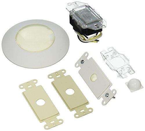 Leviton 177IR-IWA Wall Or Ceiling Mount Infrared Receiver for Mural, Ivory/White/Almond ()