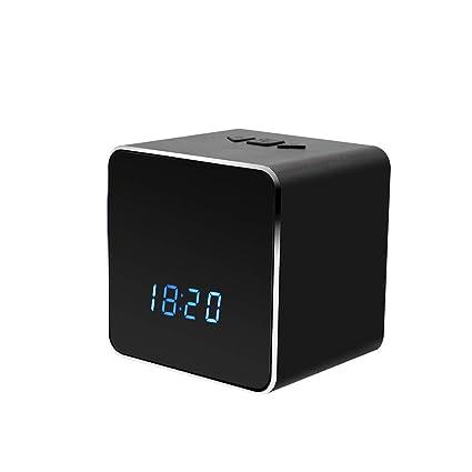 YMXLJJ 1080P 4K cámara HD Mini WiFi portátil Reloj cámara Bluetooth Altavoz Reproductor de música con