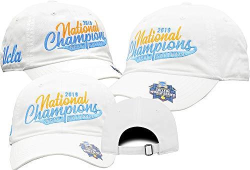 Elite Fan Shop UCLA Bruins National Softball Champions Hat 2019 College World Series - Adjustable - White