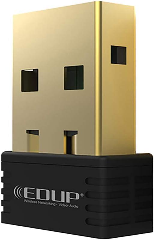 hudiemm0B USB Wireless Adapter EDUP N8553 802.11n 150Mbps Mini USB Wireless Network Card Adapter WiFi Receiver
