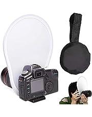 Draagbare Flash Diffuser, Opvouwbare Draagbare Softbox Flash Diffuser Softbox Camera Flash Diffuser Soft Diffuser Opvouwbaar Met Opbergtas For DSLR Camera Lens 30cm