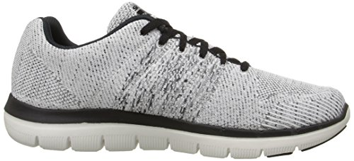 Sneaker Flex Black Sport White 0 Oxford Skechers Men's 2 Advantage xpzqc0aw