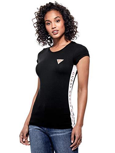 s Leann Logo Tee Jet Black ()