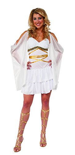 Pizazz! Women's Roman Princess Costume with Draped