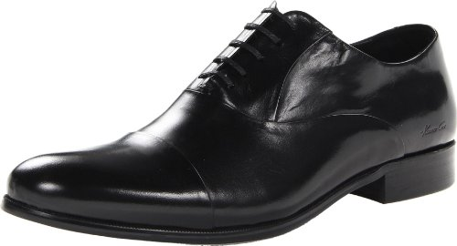 (Kenneth Cole New York Men's Chief Council Oxford,Black,9.5 M US)