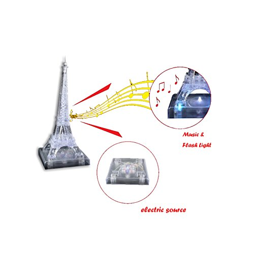 3d crystal puzzles eiffel tower - 7