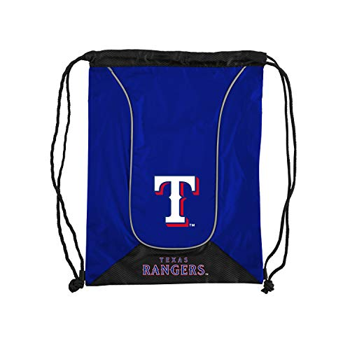 Officially Licensed MLB Texas Rangers Doubleheader Backsack , 18-Inch, Navy