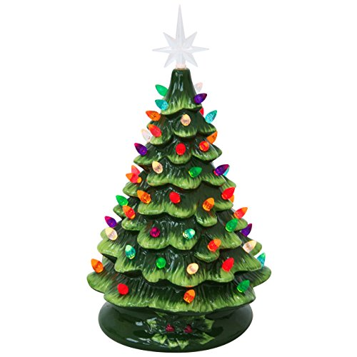 Best Choice Products Prelit Ceramic Tabletop Christmas