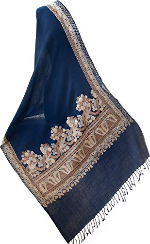 Crewel Embroidered Shawl...