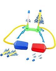 Generic Rocket Launcher Jump Light-up Buitenraket voor Buitenactiviteiten in De Sporttuin voor Kinderen