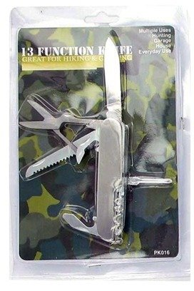 Brand New 13-Feature Pocket Knife Case Pack 24 by  (Image #1)