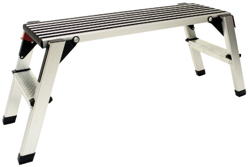 Torin Big Red Aluminum Platform Work Bench: Step Stool / Drywall Ladder