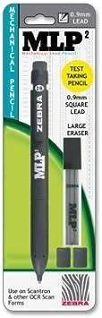 w// No Zebra MLP2 Mechanical Pencils-Mechanical Pencil Assorted Wholesale CASE of 25 0.9mm 2 Lead