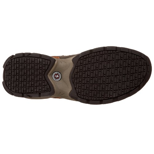Skechers for Work Mens Command Steel Toe Lace-Up Brown/Orange MLuAJok