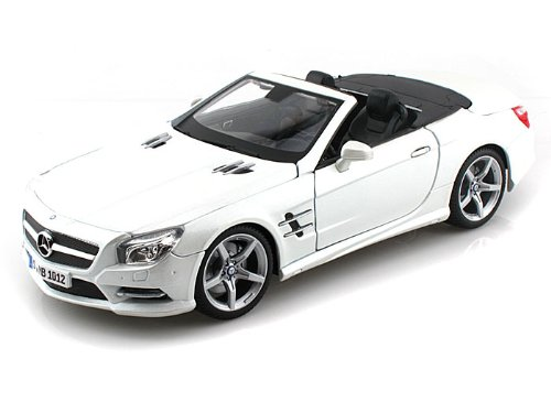 Mercedes Sl Model - Maisto 1:18 Special Edition 2012 Mercedes-Benz Sl 500 Convertible