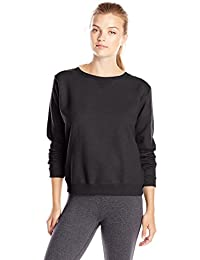 Women's V-Notch Pullover Fleece Sweatshirt