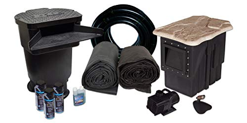 Pond Outdoor Kits (Half Off Ponds LH0 - Large Hybrid Pond Kit w/ 20' x 30' Liner, 5,500 GPH Pump, 22
