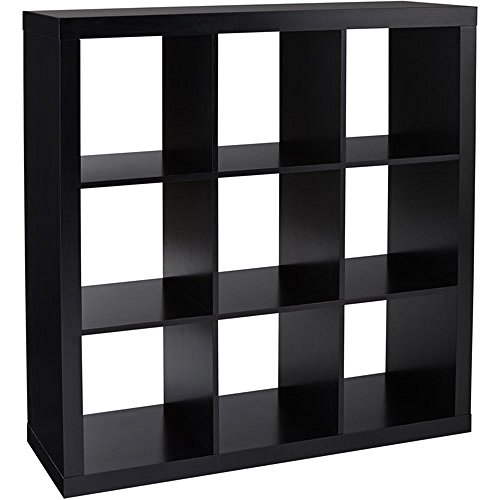 Better Homes and Gardens 9-cube Organizer Storage Bookcase Bookshelf Cabinet Divider Multiple Colors – Espresso