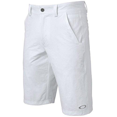 Oakley Men's 2.5 Take Shorts, White, Size 36