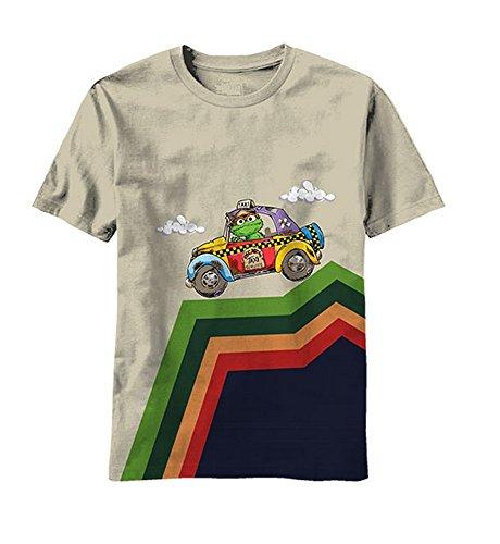 Sesame Street Kid's Taxi Hill T-Shirt - Sand (4)