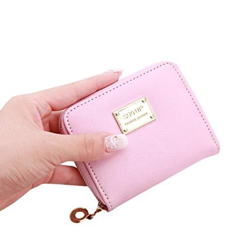 Cute Small Mini Wallet Holder Zip Coin Purse Clutch Handbag Womens Grils