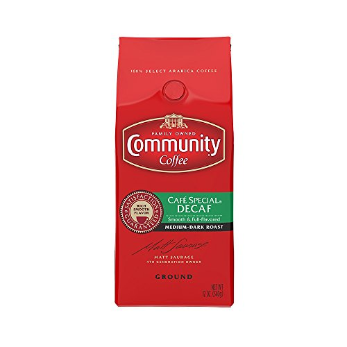 Community Coffee Ground Special Decaf