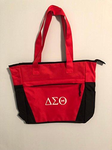 Delta Sigma Theta Sorority Shoulder Tote Bag - Crossing Initiation  Graduation Gift Paraphernalia c99226840c3a