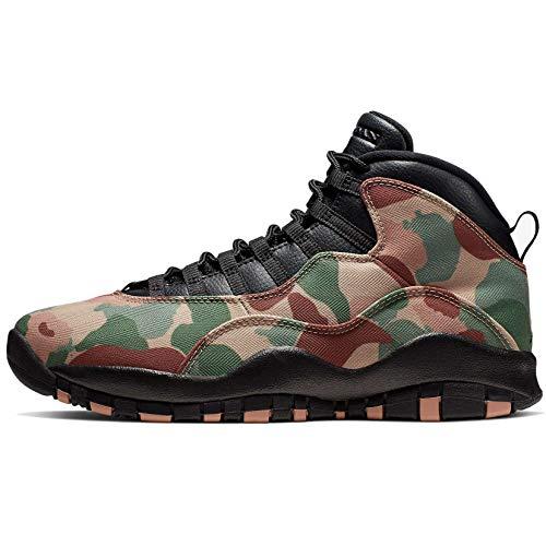 Nike Mens Air Jordan 10 Retro Shoe Mens 310805-200