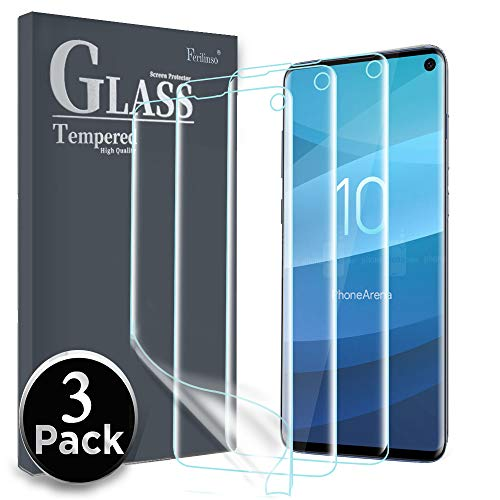 Ferilinso Screen Protector for Samsung S10,[3...