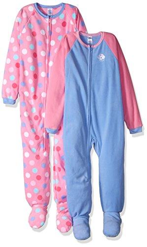 Gerber Girls Blanket Sleepers Pack