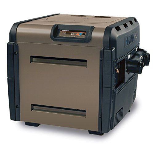 Hayward Electric Spa Heater - Hayward H250FDN Universal H-Series 250,000 BTU Pool and Spa Heater, Natural Gas, Low Nox