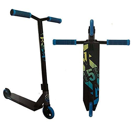 5Starr Sector 5 2018 Pro Scooter, Graphite/Blue
