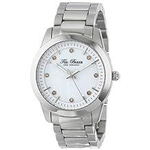 Ted Baker Women's TE4086 Dress Sport Triple Silver Analog Bracelet Watch