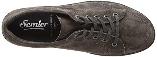 030 Zapatos para Terciopelo Fango de de Mujer Semler Michelle Cordones Gris zCq6Rgw