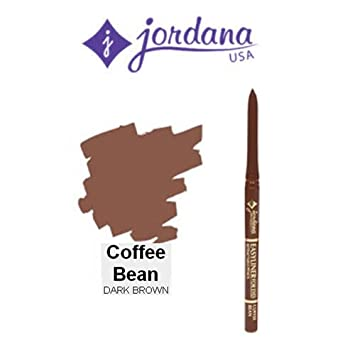3 Pack Jordana Cosmetics Easyliner for Eyes 06 Coffee Bean