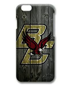 iphone 5c Case, Boston College Eagles Wooden Background Hard Protective Case for iphone 5c 3D Hard Plastic PC Material