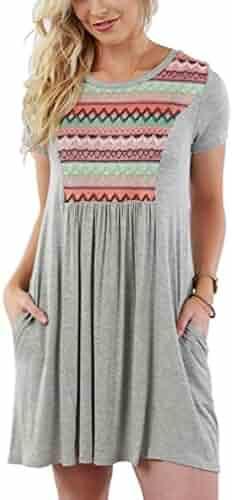 4e65eeff0ae Shopping Geometric - 3X - Short Sleeve - Dresses - Clothing - Women ...